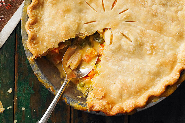 Zippy Turkey Pot Pie Image 1