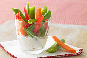 Veggies & Ranch Dip Image 1