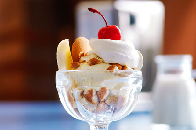 Pudding-Banana Split