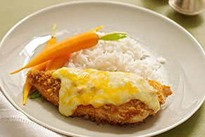 Crisp and Creamy Baked Chicken Image 1
