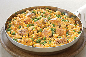 Cheesy Chicken Skillet