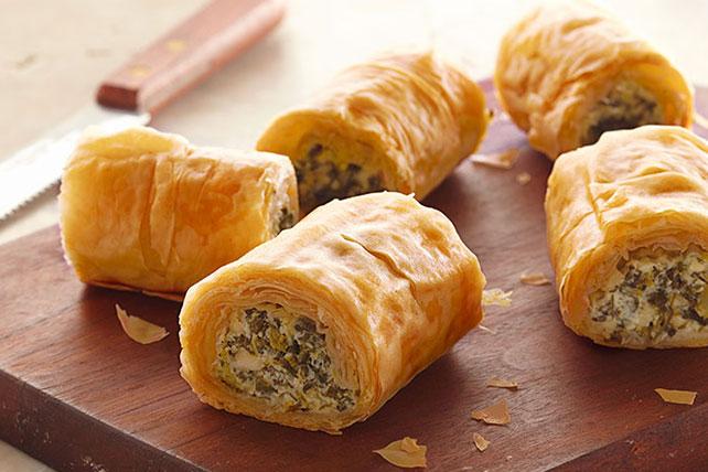 Make ahead spinach phyllo roll ups kraft recipes