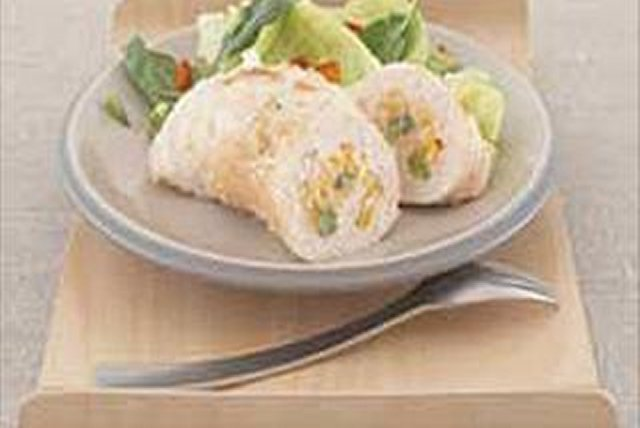 Cheesy Rice-Stuffed Chicken Breasts Image 1