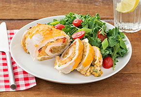 Stuffed Chicken Breasts Primavera