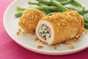Rice & Ham-Stuffed Chicken Breasts
