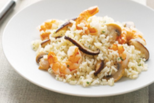 "Weeknight Shrimp and Onion ""Risotto"" Image 1"