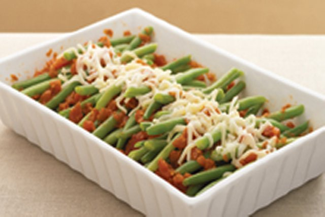 Saucy Green Beans Image 1
