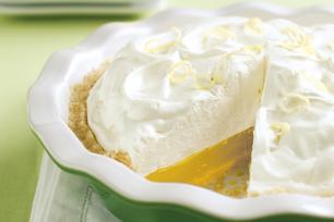 Tarte au citron «meringuée»