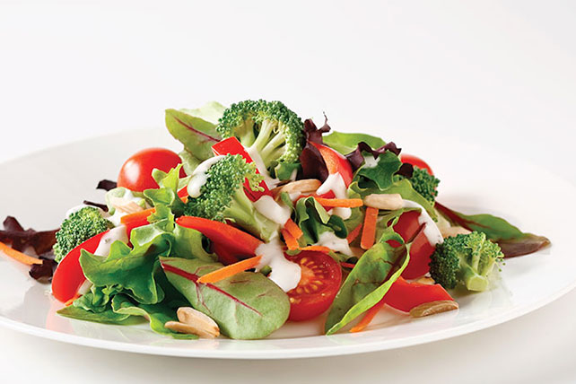 Broccoli and Almond Salad Image 1