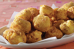 Bacon Hush Puppies