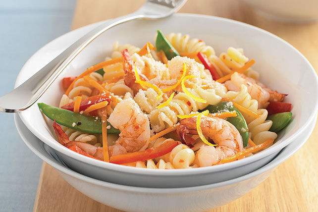 Quick & Easy Shrimp Primavera Image 1