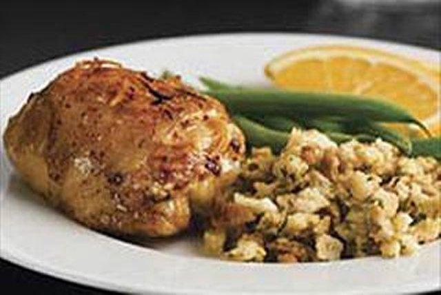 Pollo horneado con naranja y chipotle Image 1
