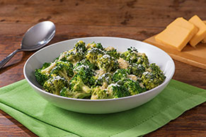 Cheesy Broccoli Toss