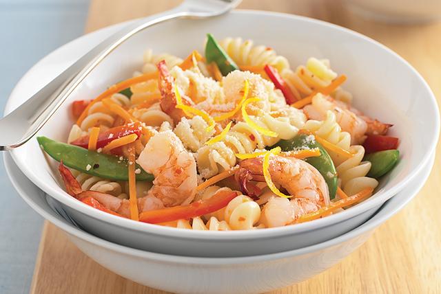 r pidos y sencillos camarones primavera receta comida kraft