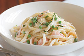 Updated Fettuccine Carbonara