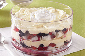 Creamy Layered Fruit Sensation