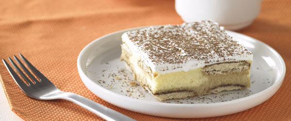 Gâteau au fromage tiramisu