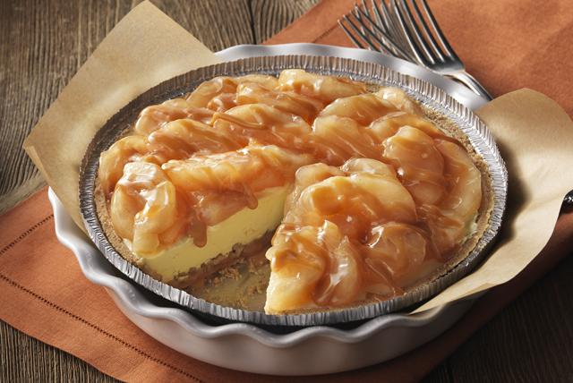 Tarte aux pommes et au sundae au caramel Image 1