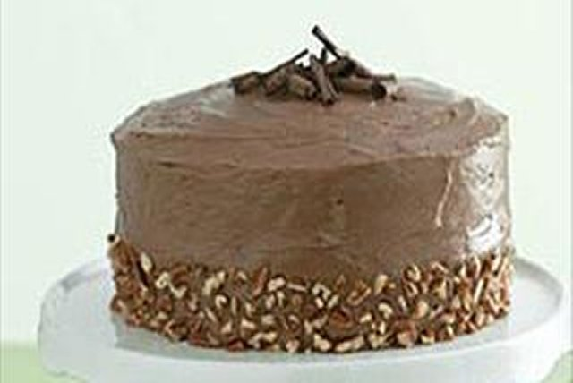 Chocolate-Banana Heaven Cake Image 1