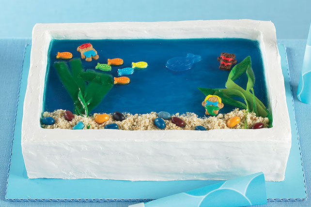 Under-the-Sea Cake Image 1