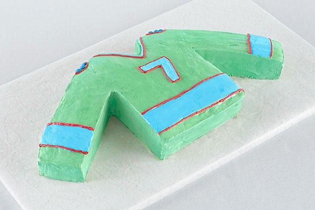 Sports Jersey Cake Image 1