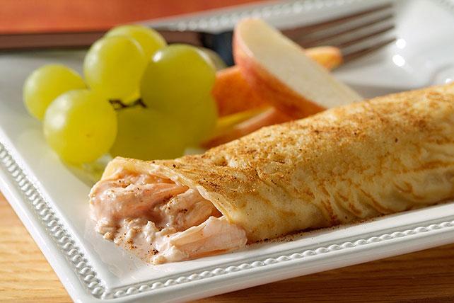 Elegant Seafood Crepes Image 1