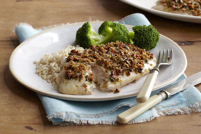 Caribbean Nut-Crusted Fish Image 1