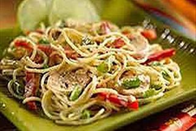 Asian Peanut Noodles Image 1
