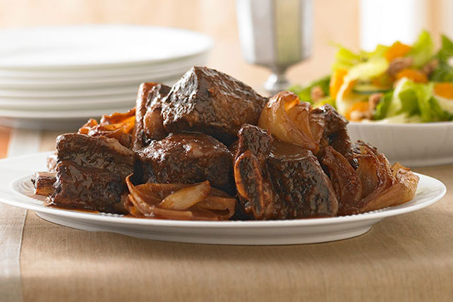 Slow-Cooked Beef Ribs for Passover Image 1