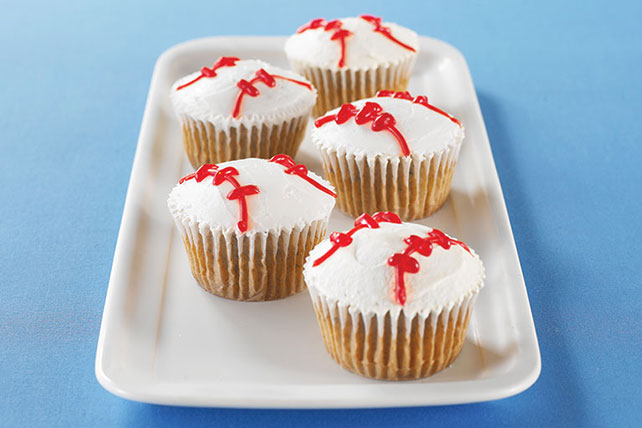 Baseball Cupcakes Image 1