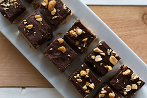 MR. PEANUT's Double Fantasy Fudge