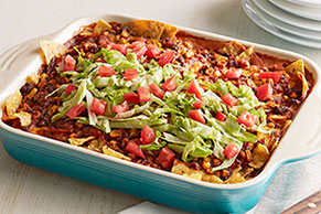 VELVEETA® Easy Taco Bake with Tortilla Chips