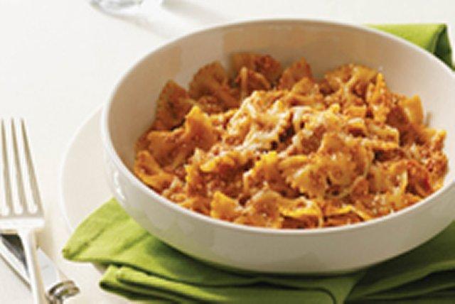 Poêlée de boucles au parmesan. Image 1