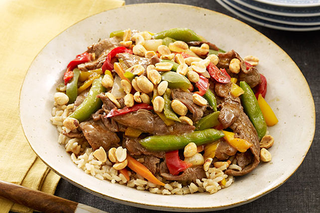 Beef and Vegetable Stir-Fry Image 1