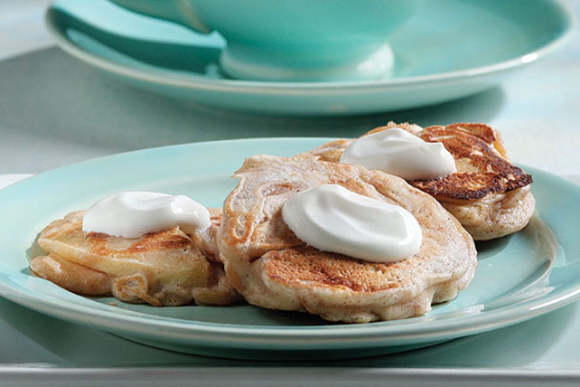 Apple-Cinnamon Blinis Image 1