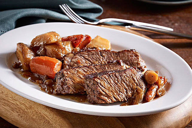 Hearty Pot Roast with Parsnips Image 1