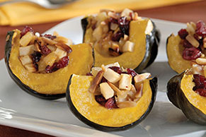 Fruity Acorn Squash Bake