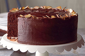 Best-Ever Chocolate Fudge Layer Cake Image 1