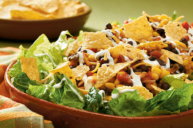 10-Minute Layered Southwest Salad Image 1