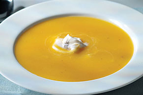 Spiced Apple-Butternut Squash Soup
