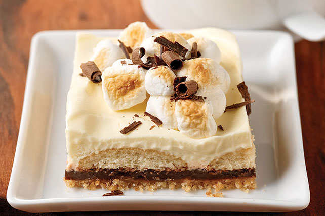 Mores Dessert Squares - Kraft Recipes