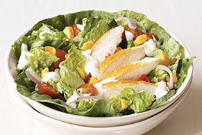 Easy Chicken Ranch BLT Salad