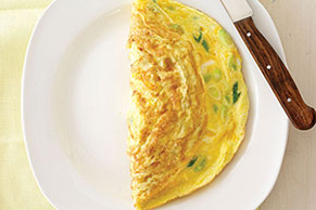 Creamy No-Fail Cheese Omelet