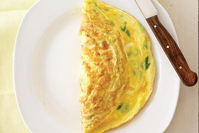 Creamy No-Fail Omelet Image 1