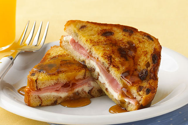 Ham and Cheese Stuffed French Toast Image 1