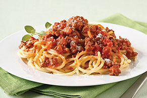 Spaghetti with Zesty Bolognese Sauce