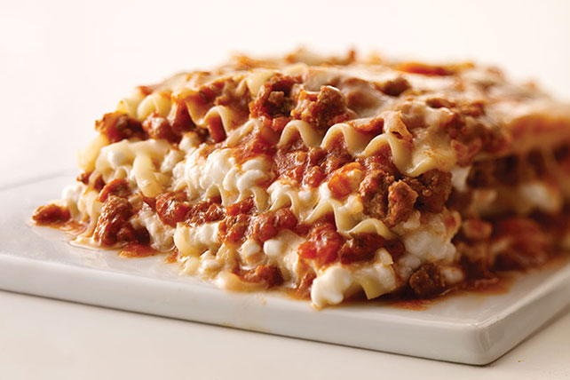 Better Than Ever Cheesy Meat Lasagna