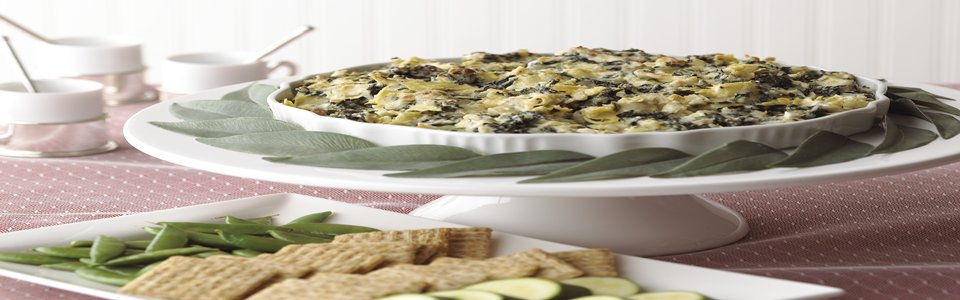 Easy Spinach Artichoke Dip with Cheese Image 1