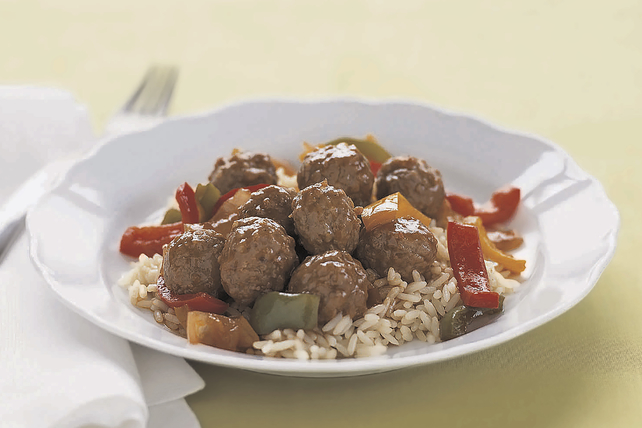 Simple Sweet and Sour Meatballs Image 1