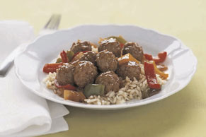 Simple Sweet 'N Sour Meatball Simmer